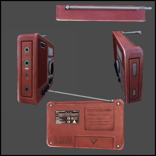 Field radio - 3DOcean Item for Sale
