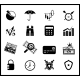 Finance protection icon set - GraphicRiver Item for Sale