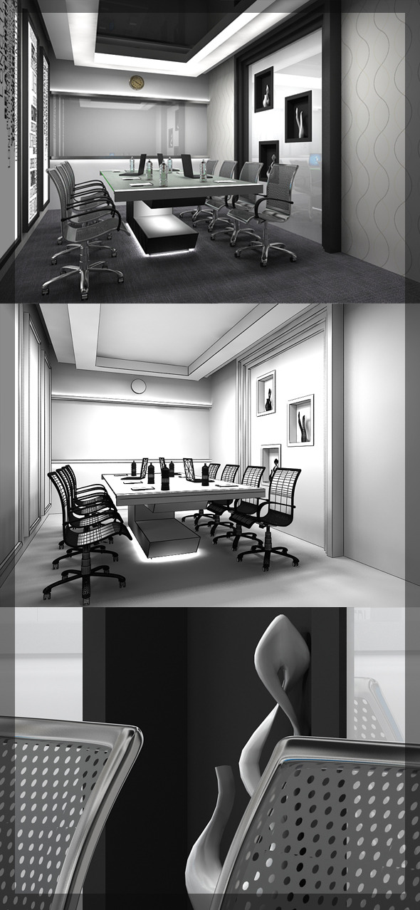 Conference Room 8080 114 - 3DOcean Item for Sale