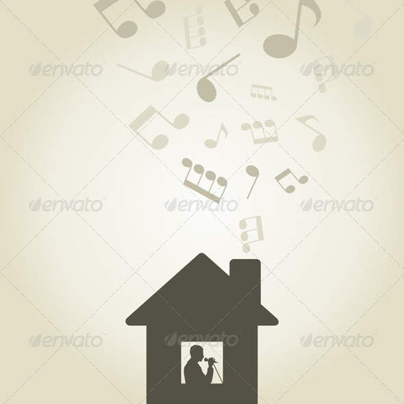 Singer in the house - Buildings Objects
