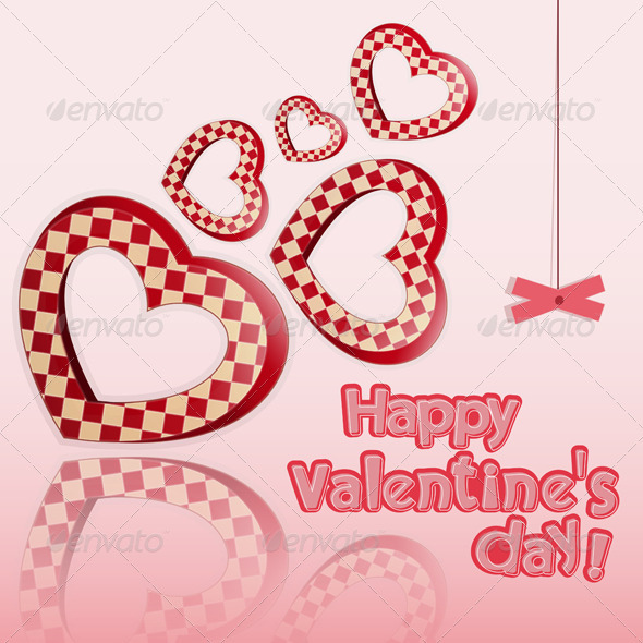 Postcard to the Valentine's Day - Valentines Seasons/Holidays