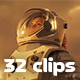 Collection of Space Travel and Space Exploration - Pack of 32 Clips - VideoHive Item for Sale