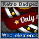 8 Retro Badges - GraphicRiver Item for Sale