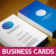 GlobalBlue Business Cards - GraphicRiver Item for Sale