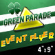 Green Parade - St Patrick's Day Themed Flyer - GraphicRiver Item for Sale