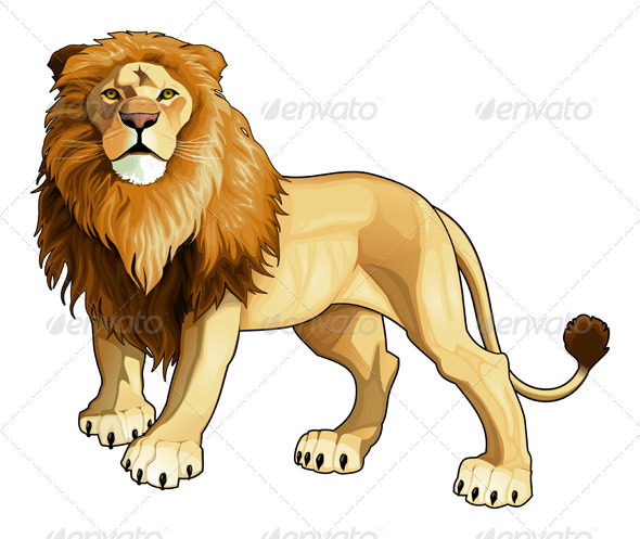 Lion king. - Animals Characters