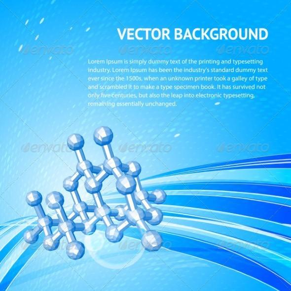 Atom, molecule. - Conceptual Vectors