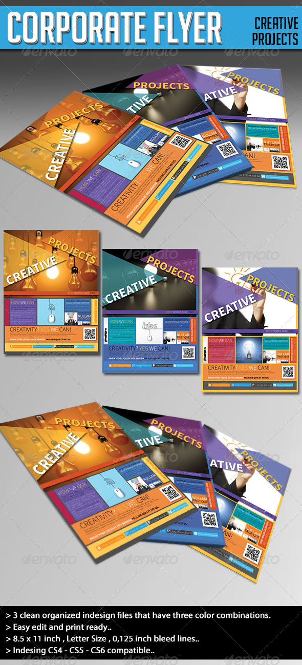 Corporate Flyer - (Creative Projects) - Corporate Flyers
