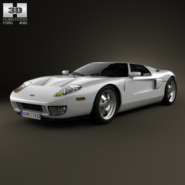 Ford GT 2006 - 3DOcean Item for Sale