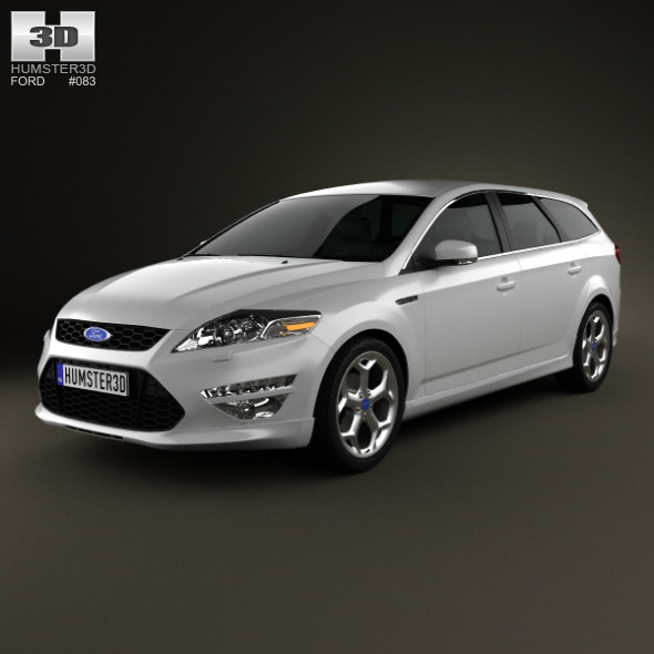 Ford Mondeo Turnier Titanium X Mk4 2012   - 3DOcean Item for Sale