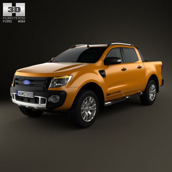 Ford Ranger Wildtrak Double Cab 2012 - 3DOcean Item for Sale