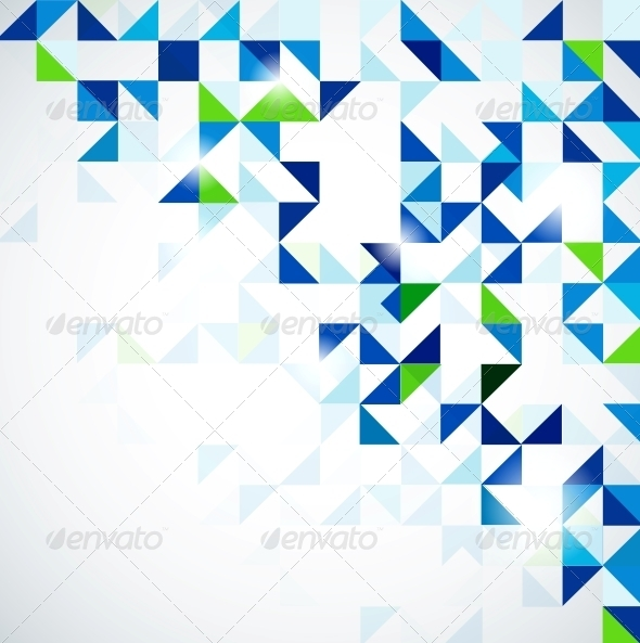 blue green modern geometric design template by antishock graphicriver