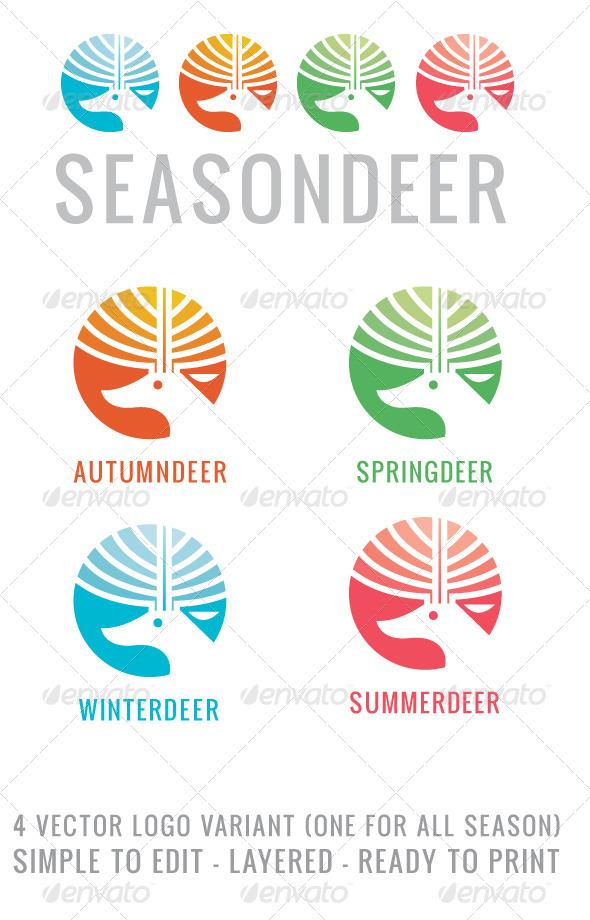Seasondeer - Animals Logo Templates