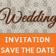 Wedding Invitation Card & Save the Date - GraphicRiver Item for Sale