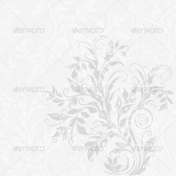 EPS10 Decorative Floral Background - Backgrounds Decorative