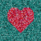 Heart Tiled Background - GraphicRiver Item for Sale