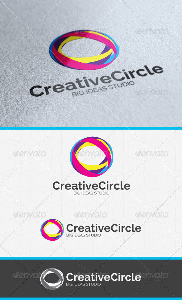 Creative Circle Logo Template - Symbols Logo Templates