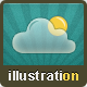 Cloud Technology Illustrations in Eclectic Style