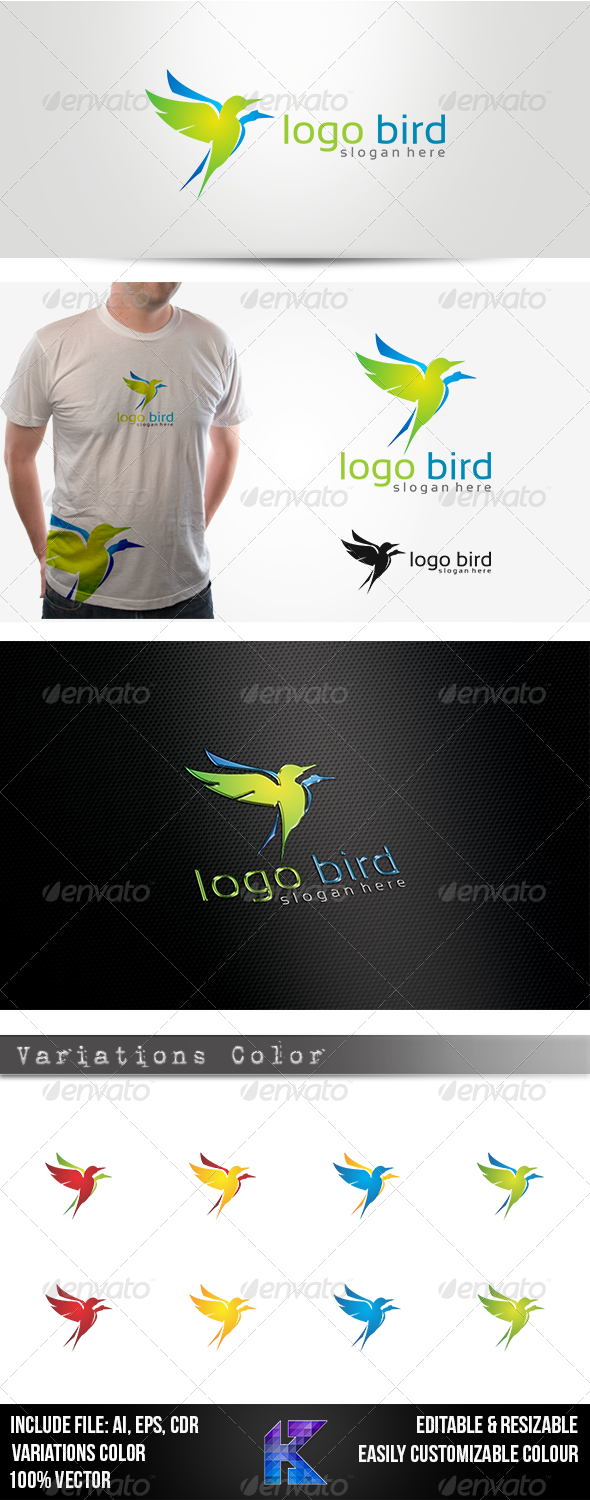 Logo Bird - Animals Logo Templates
