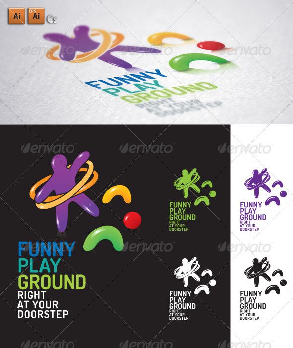 Playground - Humans Logo Templates