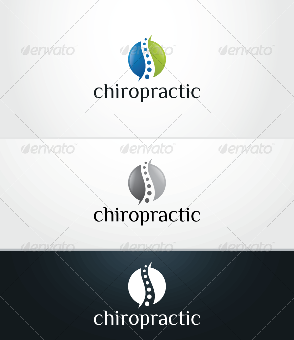 Chiropractic V.2 - Logo Template - Humans Logo Templates