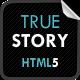 TrueStory - Fullscreen HTML5 Template Nulled