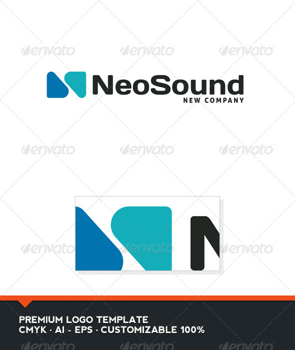 Neo Sound - Abstract and N Letter Logo Template - Abstract Logo Templates