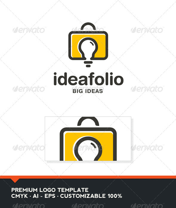 Idea Folio Logo Template - Objects Logo Templates