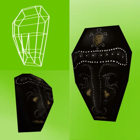 Tribal Mask - 3DOcean Item for Sale