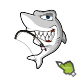 character shark vector - GraphicRiver Item for Sale