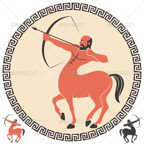 Sagittarius - Characters Vectors