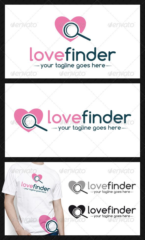 Love Finder Logo Template - Objects Logo Templates