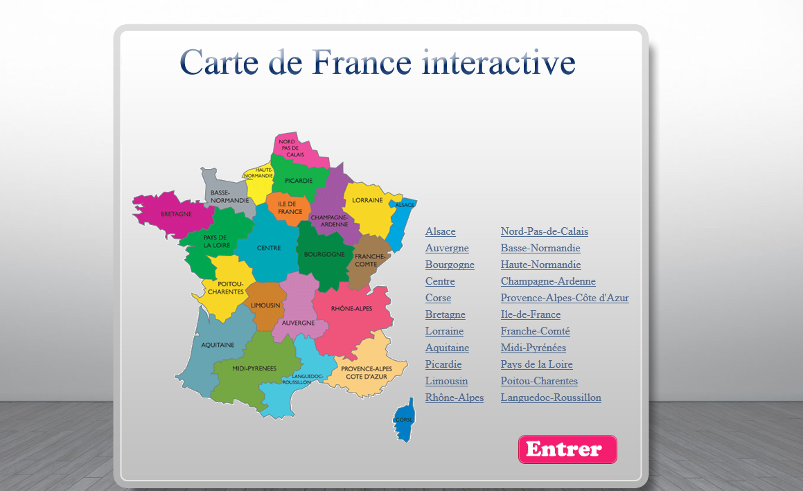 Interactive Map Of France.France Interactive Map