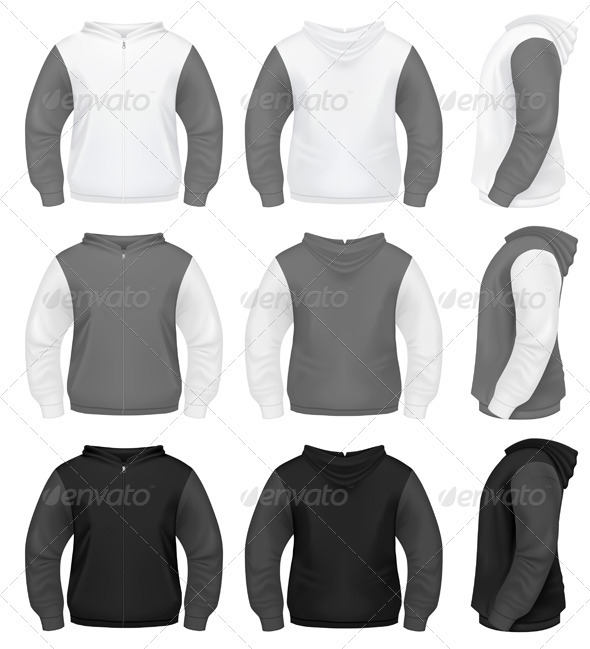 Realistic Men's Sweater - Miscellaneous Vectors