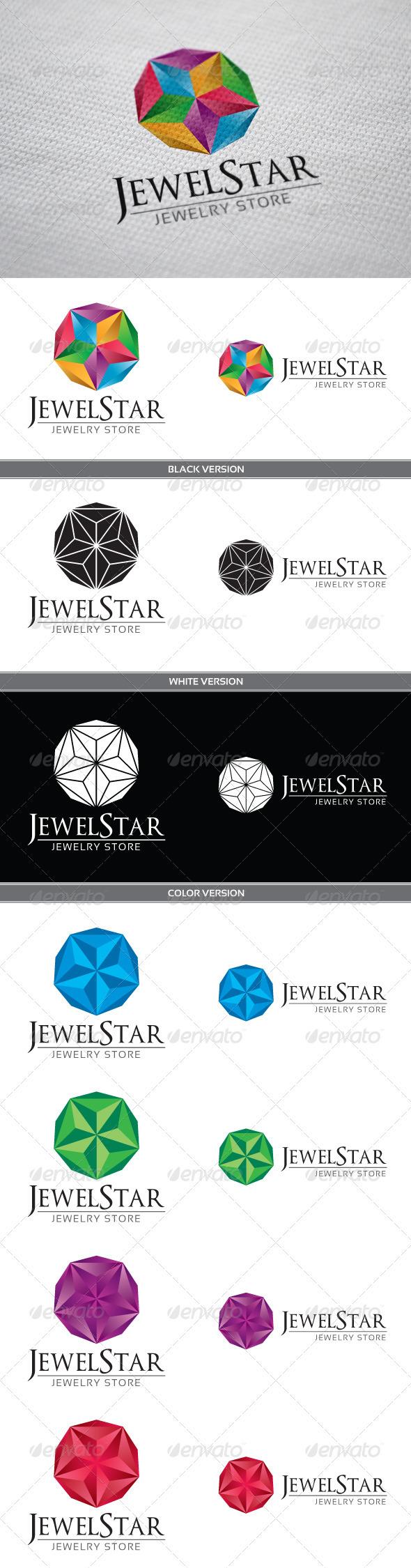 JewelStar Logo - Objects Logo Templates