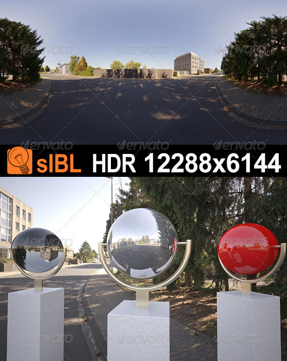 HDR 082 Road sIBL - 3DOcean Item for Sale