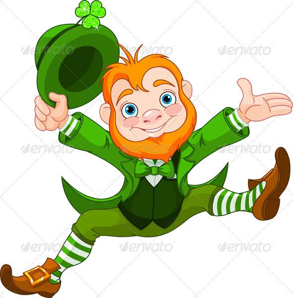 Happy Leprechaun - Seasons/Holidays Conceptual