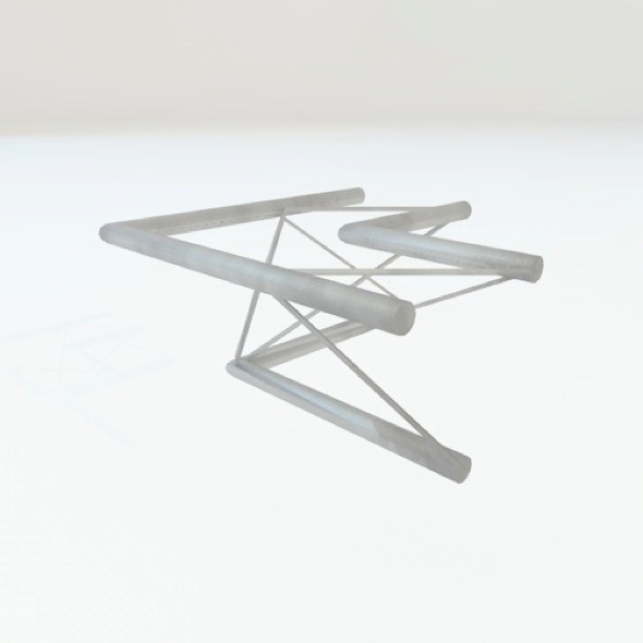 truss trio corner - 3DOcean Item for Sale