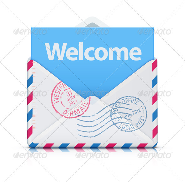 Welcome Concept - Conceptual Vectors