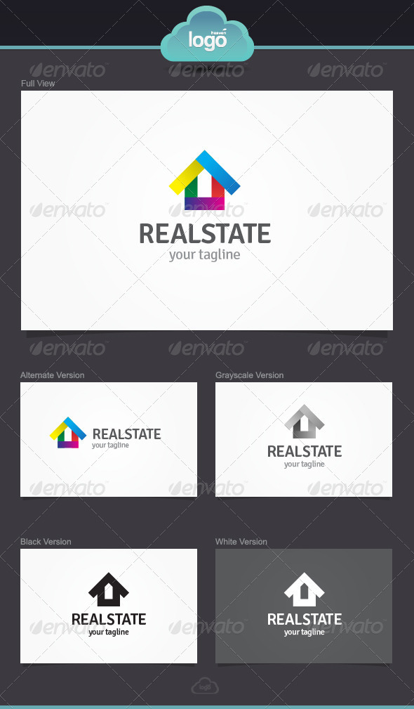 Real State Logo Template - Symbols Logo Templates