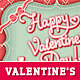 Love Message Valentine's Day Greeting Card - GraphicRiver Item for Sale