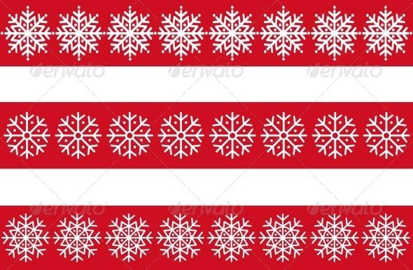 Vector Snowflakes - Seasons Nature