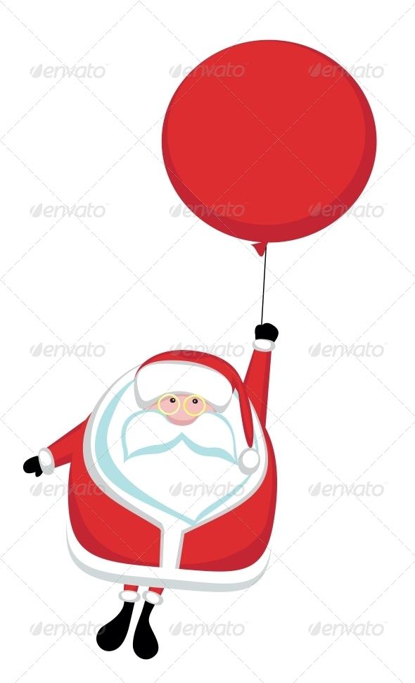 Cartoon Santa - People Characters