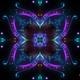 4k Neon Floral Mandala Kaleido - VideoHive Item for Sale