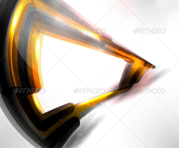 Abstract Futuristic Technology Illustration - Abstract Conceptual