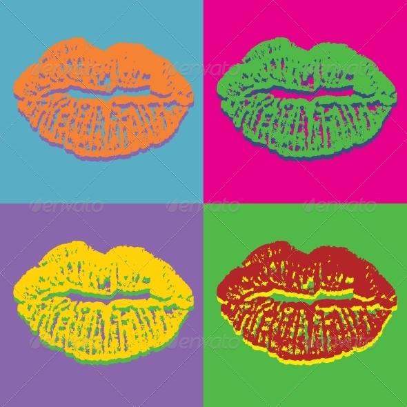 Lips Set - Valentines Seasons/Holidays