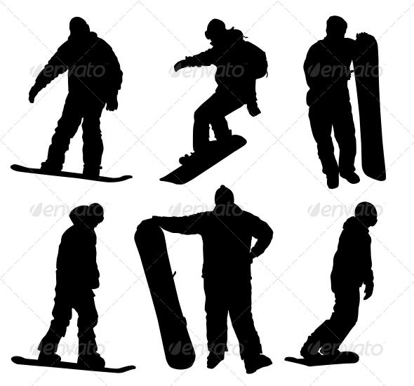 Snowboard Set - Sports/Activity Conceptual