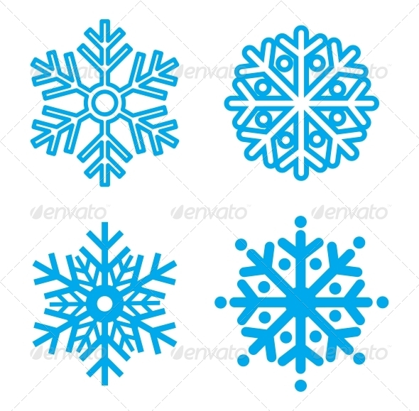Snowflakes - Christmas Seasons/Holidays