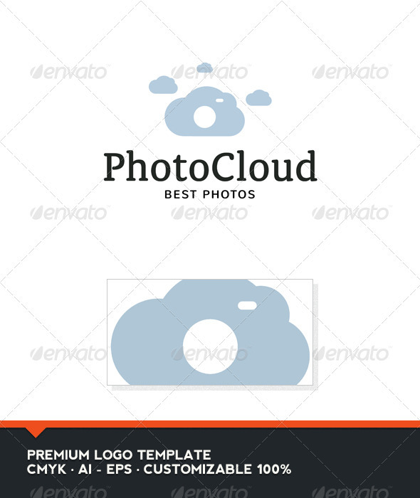 Photo Cloud Logo Template - Nature Logo Templates