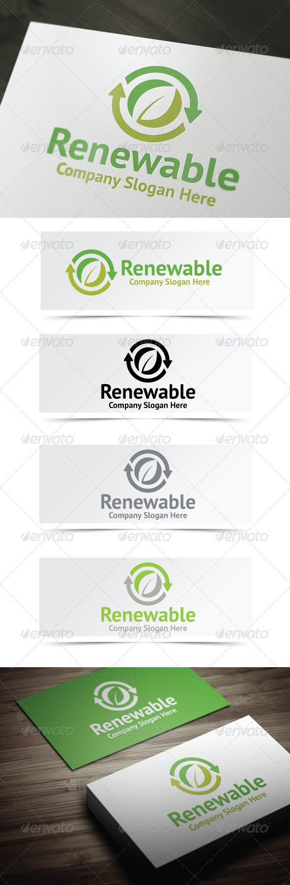 Renewable Resources Logo - Nature Logo Templates